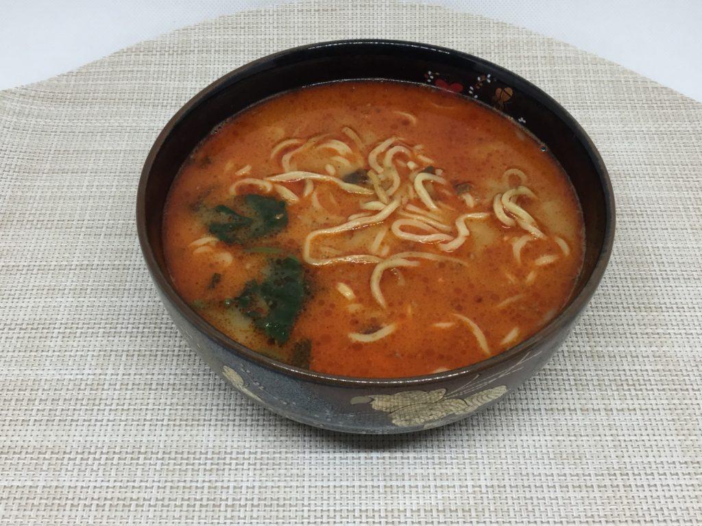 コープの担々麺のレビューと口コミ、花椒(ホアジャオ)香るうまさ