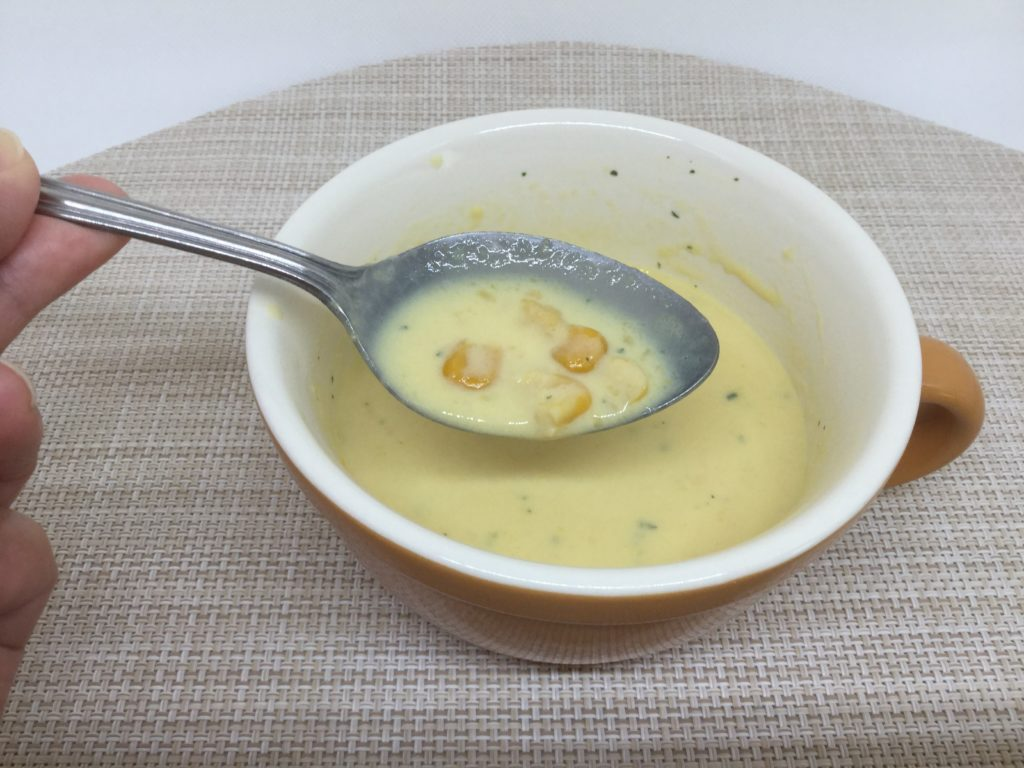 コープ日本のコーンスープのレビューと口コミ、北海道産原料使用!