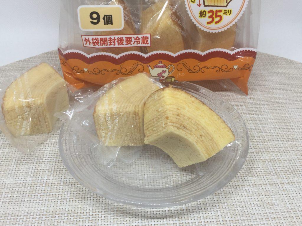 コープの厚切りバウムクーヘンのレビューと口コミ、バナナも好評!